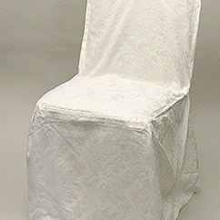 Club Chair Covers Pottery Barn Chairs Ecru Polyester Damask Cover Get Another Opinion Share This Fabric
