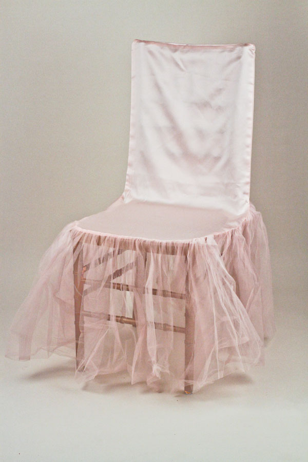 chair covers pink swivel dining wedding and special event ballerina cover for rent get another opinion share this fabric
