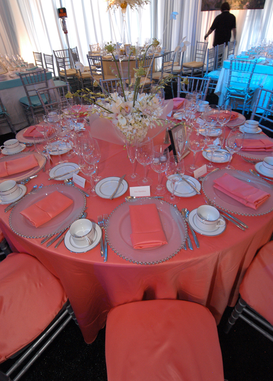 chair covers decorations ergonomic table coral lamour napkin