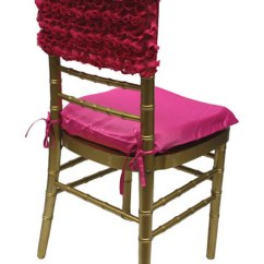 Chair Caps Covers Bedroom Potty Wedding And Special Event Fuchsia Rosette Cap For Rent Cloth Get Another Opinion Share This Fabric