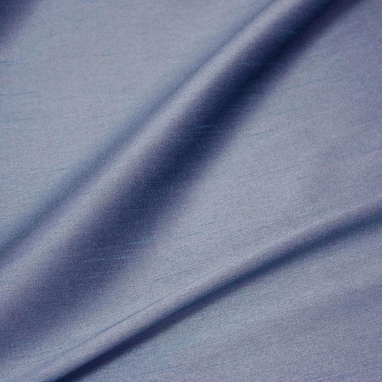 Slate Blue Poly Dupioni Silk Table Linen Rental Tablecloth