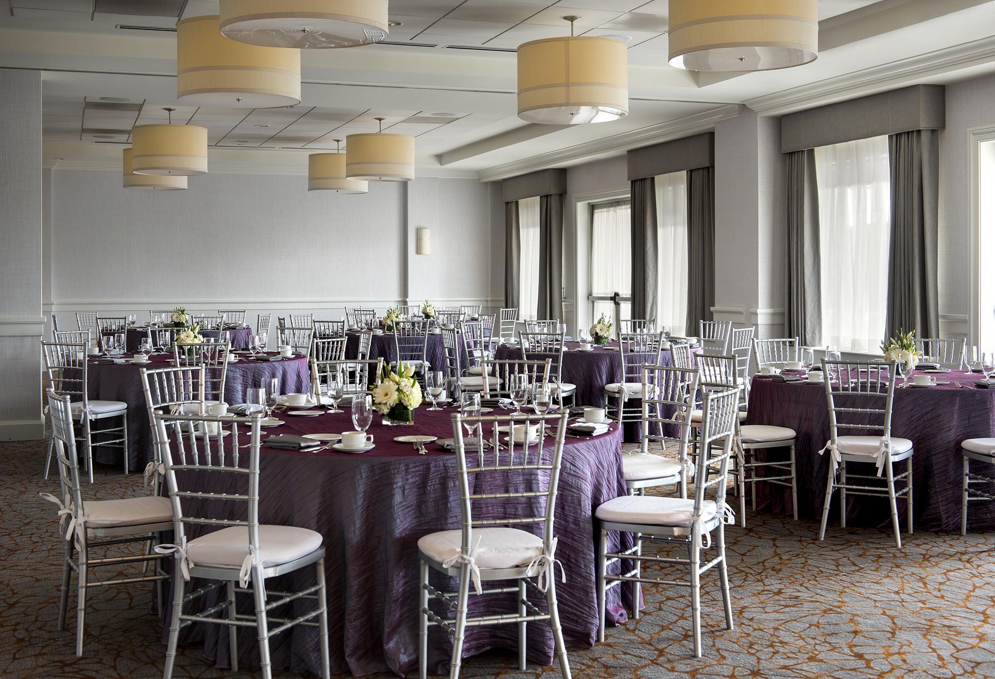 chair cover rentals boston ma blue adirondack victorian lilac taffeta table linen rental tablecloth