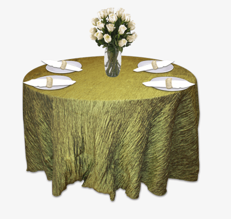 chair covers for event white ruched moss crinkle taffeta table linen rental tablecloth