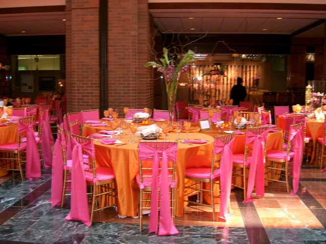banquet chair covers for rent bedroom ideas wedding and special event pumpkin lamour - cloth connection