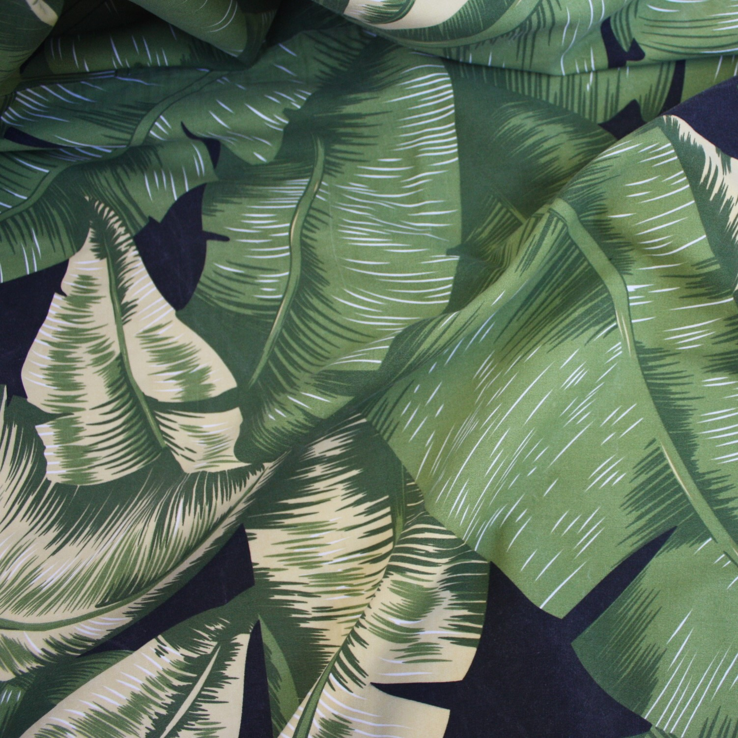 Palm Leaves Table Linen Rental Tablecloth