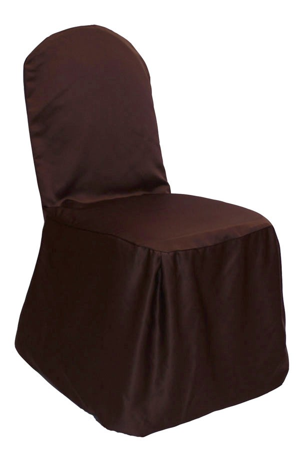 brown chair covers upper back support for office chocolate lamour cover get another opinion share this fabric