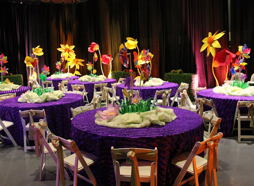 wedding and special event Purple Chinchilla for rent