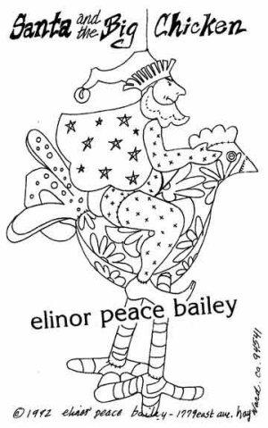 EPB Santa & Big Chicken Pattern EPB-SBC Detail Page