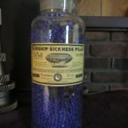 Airship Sickness Pills Apothecary Jar