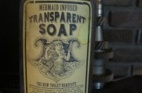 Transparent Soap Apothecary Jar