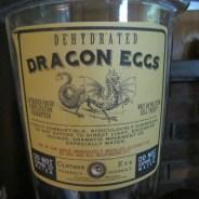 Dehydrated Dragon Eggs Apothecary Jar
