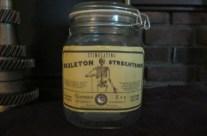 Skeleton Strengthener Apothecary Jar
