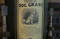 Dog Grass Apothecary Jar