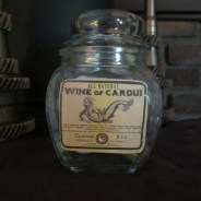 Wine of Cardui Apothecary Jar