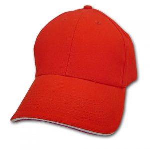 6sandwich_trim_baseball_cap_red_white
