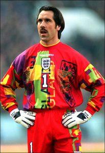 David Seaman's Euro '96 shirt