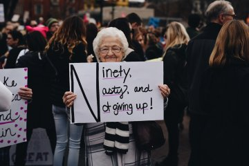 ninety nasty and not giving up from today s march in cincinnati ohio preview
