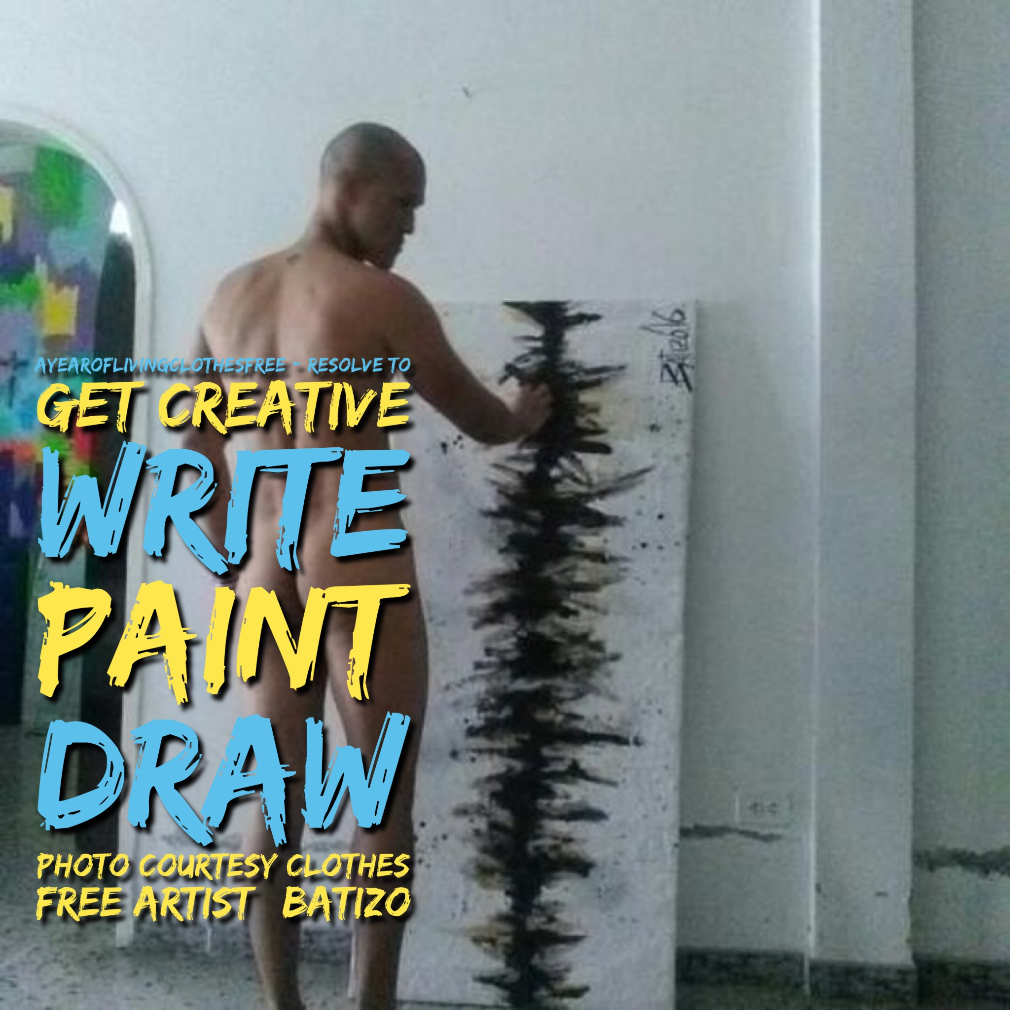 Resolve to get creative