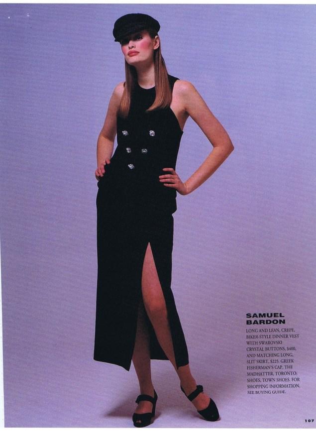 SAMUEL BARDON FLARE MARCH 1993