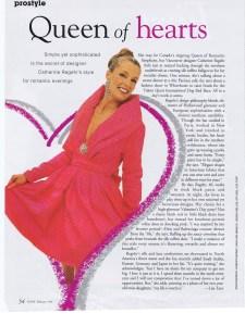CATHERINE REGEHR FLARE FEB 1995 1/2