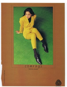 COMRAGS FASHION SEPT 1990