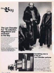 LEO CHEVALIER FASHION WINTER 1979
