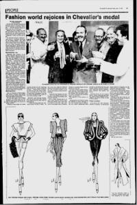 LEO CHEVALIER MONTREAL GAZETTE JAN 11 1979 FULL PAGE