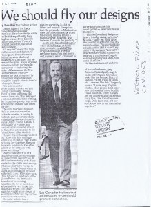 LEO CHEVALIER TORONTO STAR 21 10 1982