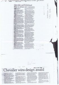 LEO CHEVALIER TORONTO STAR 22 04 1982