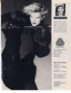 MARILYN BROOKS FLARE  SEPT 1984