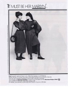 MARILYN BROOKS FLARE  SEPT 1987
