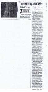 ZONDA NELLIS GLOBE AND MAIL 03 05 1990