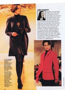LIDA BADAY FLARE AUG 1991