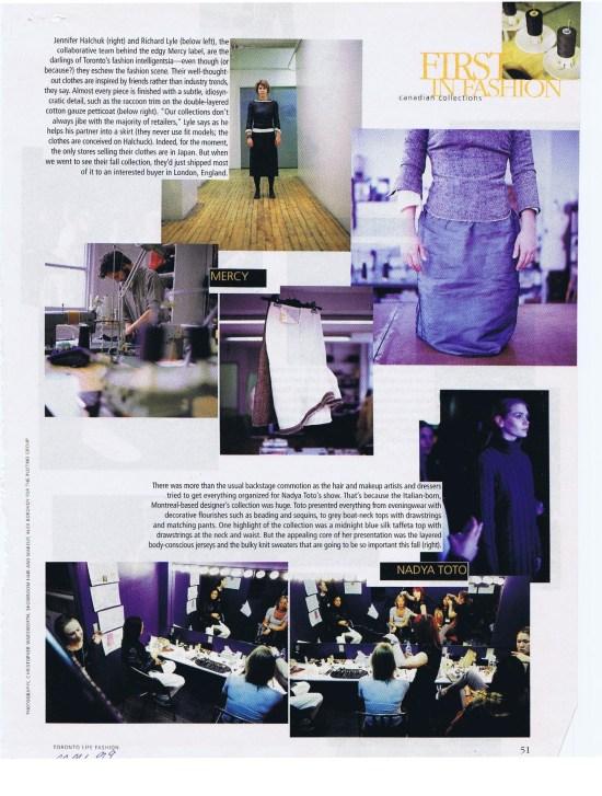 NADYA TOTO FASHION MAY 1999