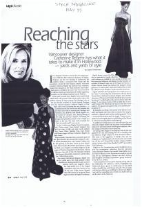 CATHERINE REGEHR STYLE MAY 1999