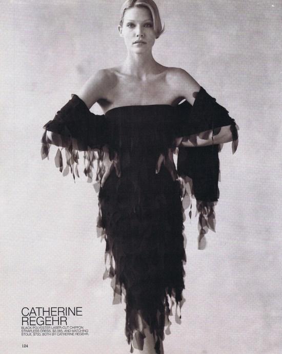CATHERINE REGEHR FASHION SEPTEMBER 2000