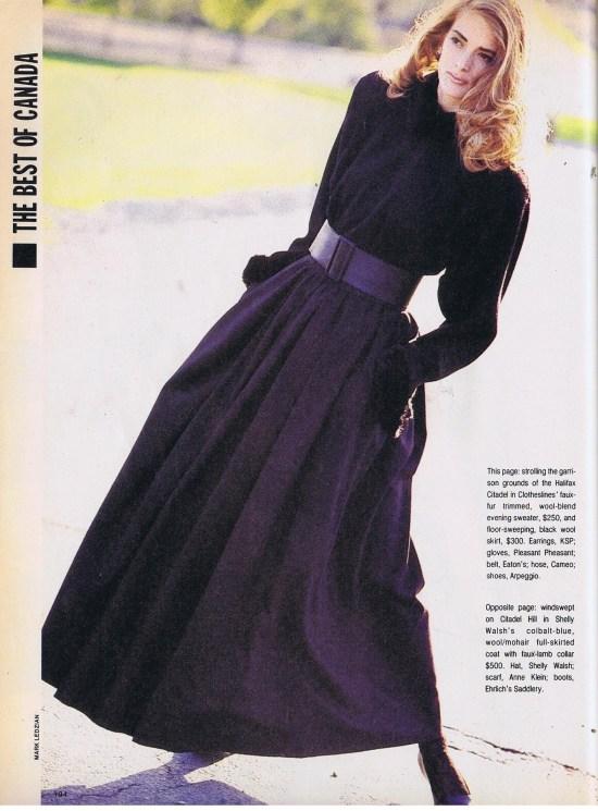 CLOTHESLINES FLARE SEPTEMBER 1986