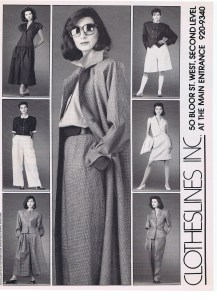 CLOTHESLINES FASHION MARCH 1989