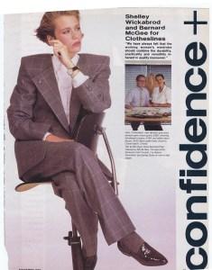 CLOTHESLINES FLARE NOV 1984