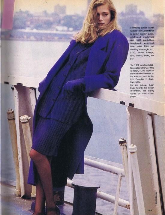 MARILYN BROOKS FLARE SEPTEMBER 1986