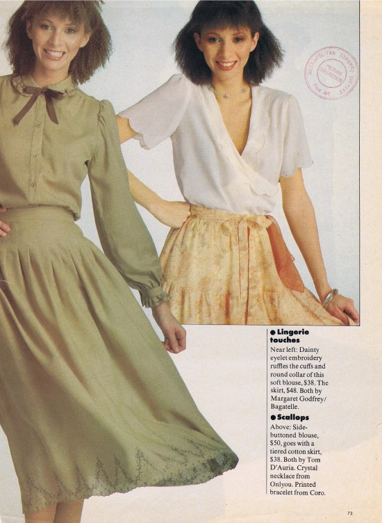 TOM D'AURIA (RIGHT) CHATELAINE FEBRUARY 1978