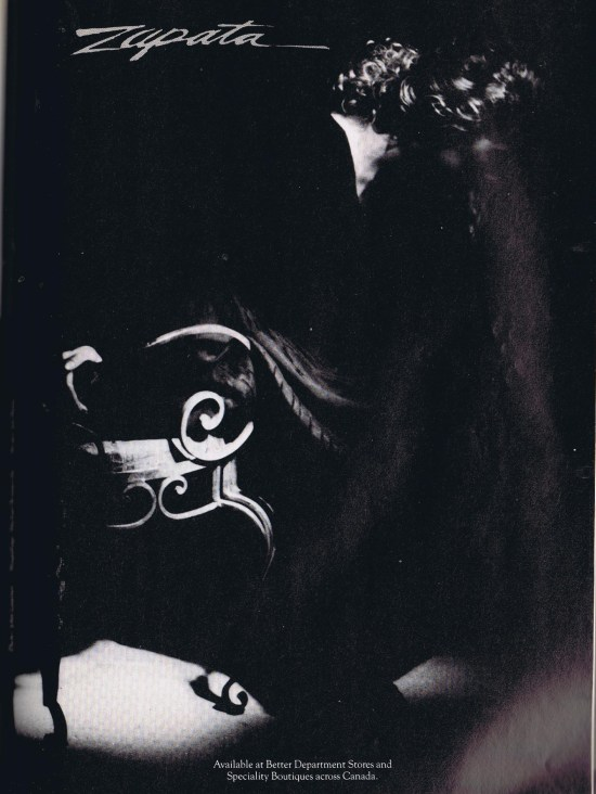 ZAPATA FLARE SEPTEMBER 1989