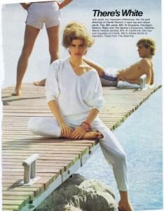 DANIEL STORTO FASHION HOLIDAY 1981