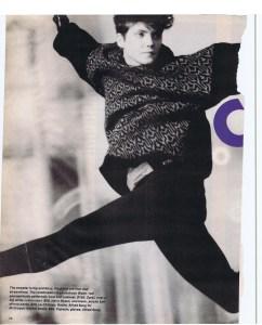 EMILY ZARB FLARE DEC 1984