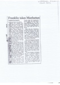 GERALD FRANKLIN TO STAR 18 06 1987