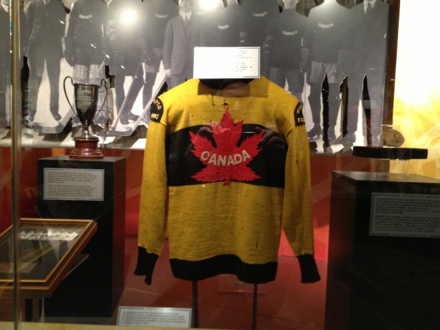 1920 OLYMPIC DEBUT SWEATER TEAM CANADA