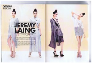 JEREMY LAING DRESSED TO KILL SPRING 2012