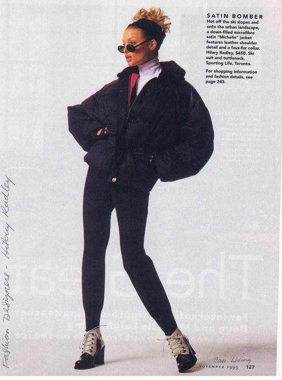 HILARY RADLEY CANADIAN LIVING NOVEMBER 1995