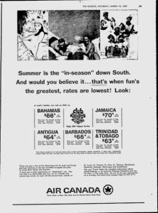 MTL GAZETTE AIR CANADA 19 03 1966