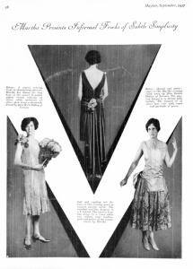 MARTHA MAYFAIR SEPT 1927